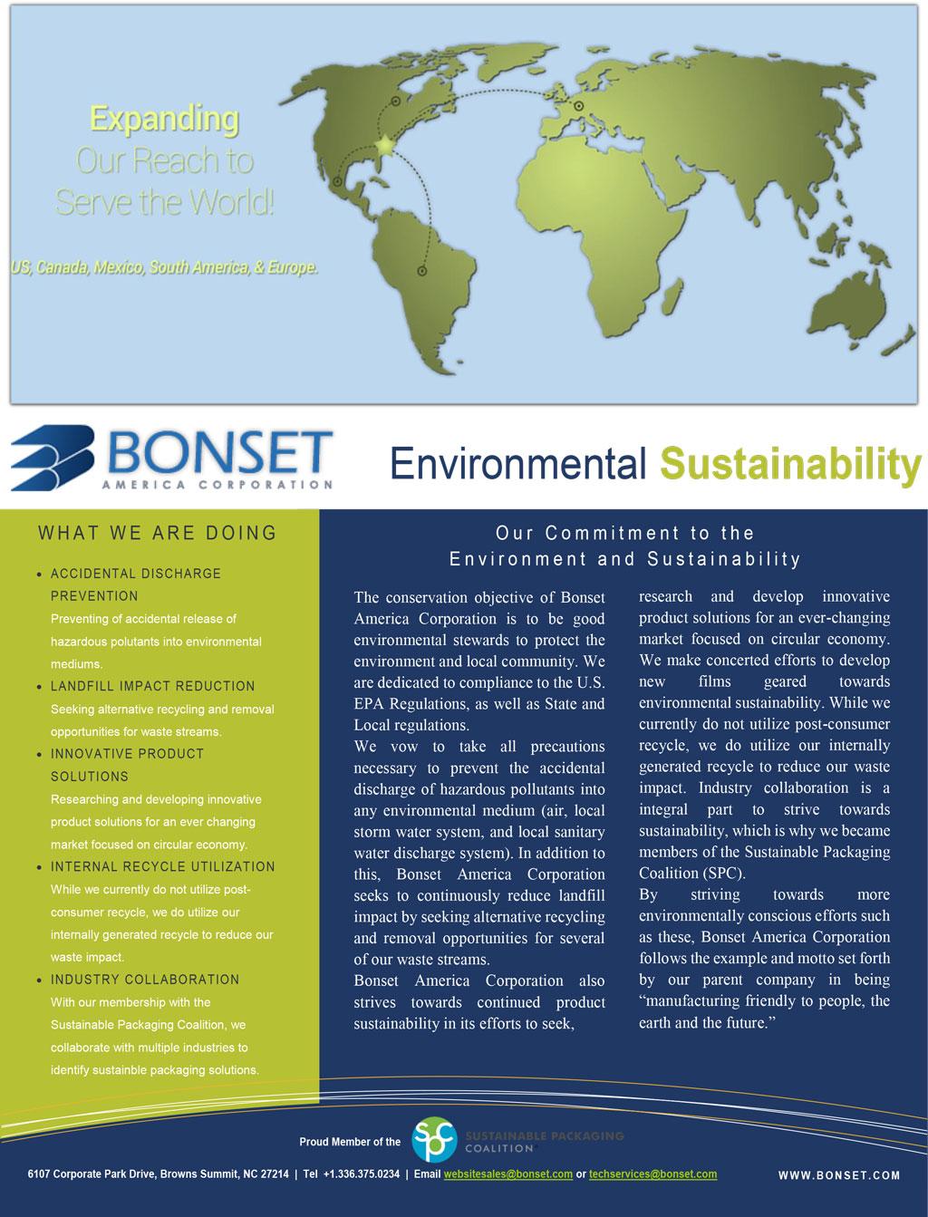 Sustainability Environmental Statement